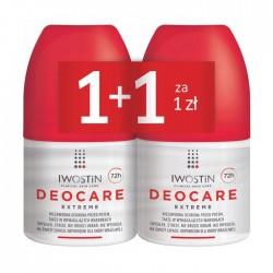 IWOSTIN Deocare Extreme antyperspirant, zestaw, 2 x 50 ml