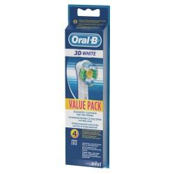Oral-B końcówki Oral B 3D White EB18 4szt.