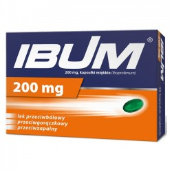 Ibum, 200 mg, 60 kapsułek, HASCO