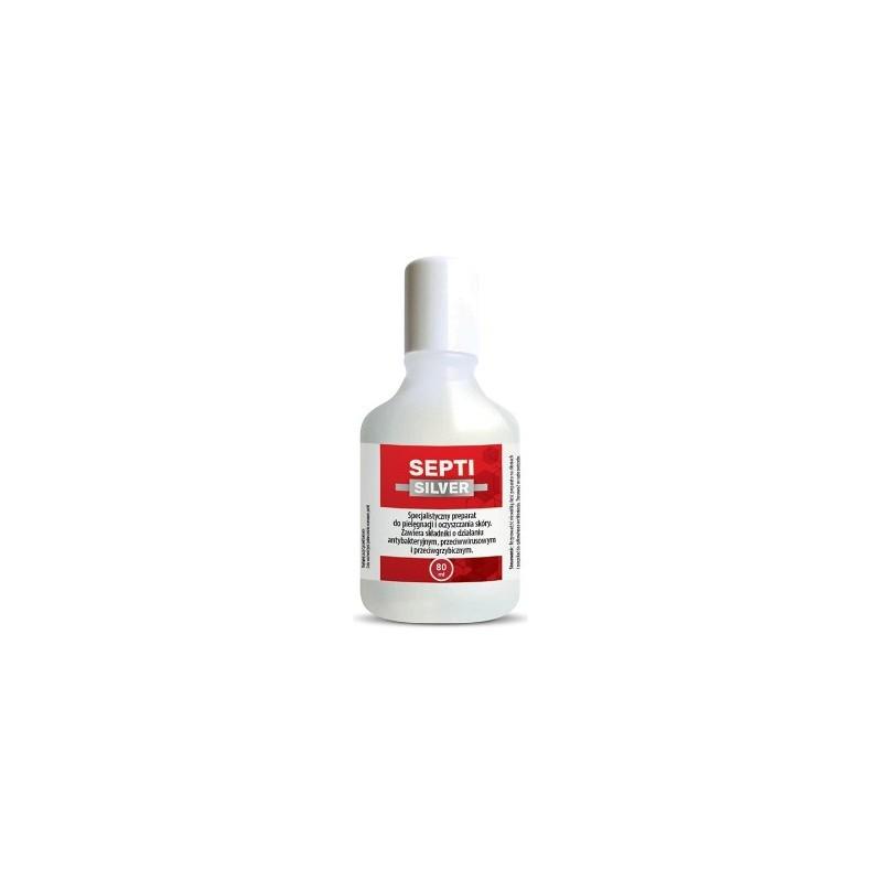 Septisilver 80 ml, preparat do pielęgnacji i oczyszczania skóry