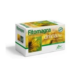 Fitomagra Drena plus, herbata oczyszczająca, 20 saszetek, ABOCA