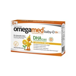 Omegamed Baby+D kaps.twistoff 30 kaps.