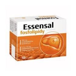 Essensal Fosfolipidy kaps. 40 kaps.
