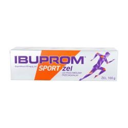 Ibuprom Sport żel 0,05 g/g 100 g (tuba)