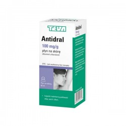 Antidral, płyn na skórę, (100 mg / g), 50 ml, TEVA