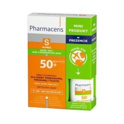 ZESTAW PHARMACERIS S Krem Medi Acne Protect, 50 ml + Mini krem, 15 ml