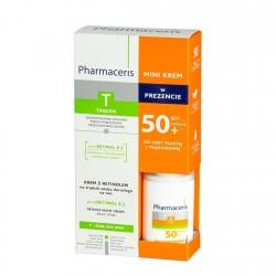 ZESTAW PHARMACERIS T+S Krem z Retinolem, 40 ml + Mini Krem Ochronny SPF 50+, 40 ml