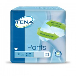 TENA Pants Plus, rozmiar S (65-85 cm), majtki chłonne, 14 sztuk