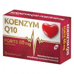 Koenzym Q10 Forte, 60 mg, 30 kapsułek, XENICO