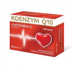 Koenzym Q10 + Witamina E, 120 kapsułek, XENICO