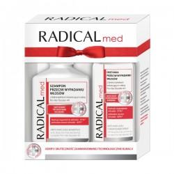 ZESTAW IDEEPHARM Radical Med, szampon przeciw wypadaniu włosów, 300ml + odżywka, 200ml