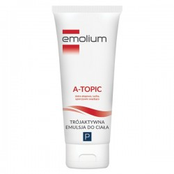 EMOLIUM A-Topic, emulsja trójaktywna do ciała, 200ml