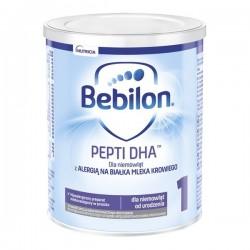 Bebilon PEPTI 1 DHA, dla niemowląt z alergią pokarmową od urodzenia, 400g, NUTRICIA