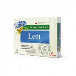 Len, 30 tabletek do ssania, COLFARM