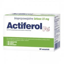Actiferol Fe 15 mg, 30 saszetek