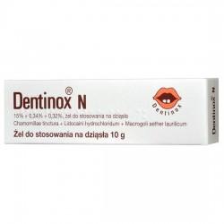Dentinox N, żel na dziąsła, 10g