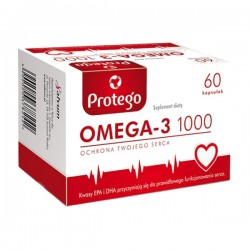 Protego Omega-3 1000, 60 kapsułek