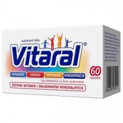 Vitaral, 60 tabletek (pojemnik)