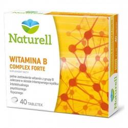 NATURELL Witamina B Complex Forte, 40 tabletek, USP ZDROWIE