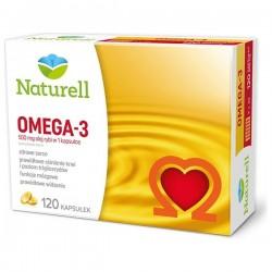 NATURELL Omega 3, 120 kapsułek