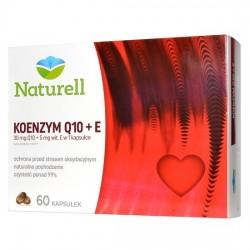 NATURELL Koenzym Q-10 30mg + vitamina E, 60 kapsułek, USP ZDROWIE