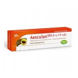 Aesculan (62,5mg+5mg)/g, maść doodbytnicza, 30g