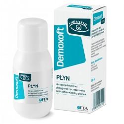 Demoxoft, płyn do specjalistycznej pielęgnacji i oczyszczania podrażnionej skóry powiek, 100ml
