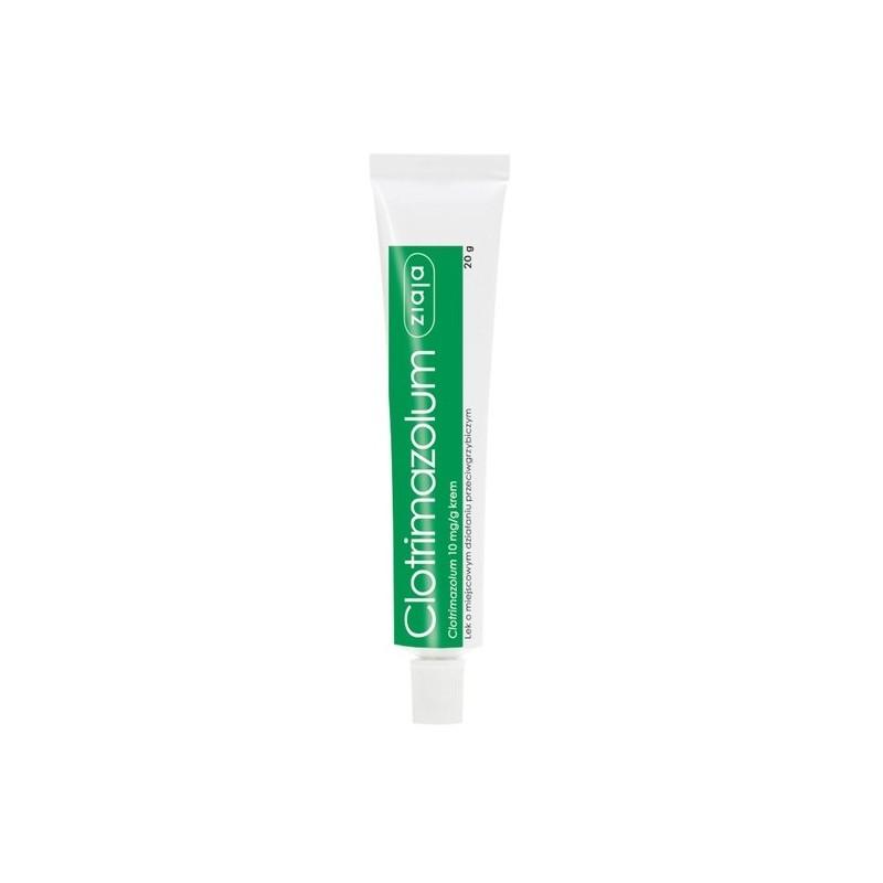 Clotrimazolum Ziaja, 10 mg/g, krem, 20g