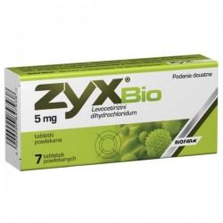 Zyx Bio 5mg, 7 tabletek, BIOFARM