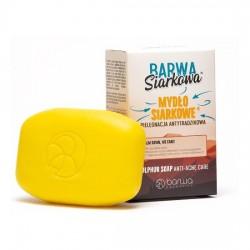 BARWA Siarkowa, specjalistyczne mydło siarkowe, 100g