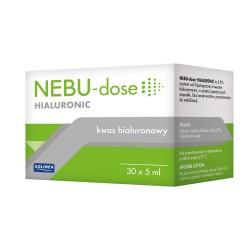 Nebu-Dose Hialuronic, kwas hialuronowy do inhalacji, ampułki, 30x5ml, SOLINEA