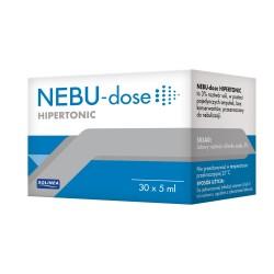 Nebu-Dose Hipertonic, roztwór hipertoniczny do inhalacji, ampułki, 30x5ml