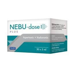 Nebu-Dose Plus, roztwór soli z kwasem hialuronowym do nebulizacji, ampułki, 30x5ml, SOLINEA