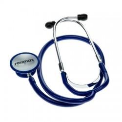 Stetoskop z podwójną głowicą, EB 200, niebieski, ROSSMAX