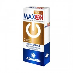 Maxon Forte 50mg, 2 tabletki, ADAMEC