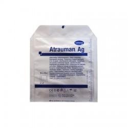 Opatrunek ATRAUMAN AG z maścią, jałowy, 10cmx10cm, 1 sztuka