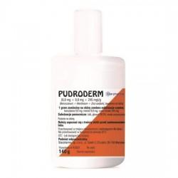 Pudroderm (245mg+9,8mg+9,8mg)/g, 140g