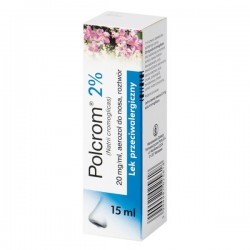 Polcrom 20mg/ml, aerozol do nosa, 15ml