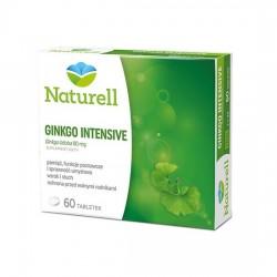 NATURELL, Ginkgo Intensive, 60 tabletek