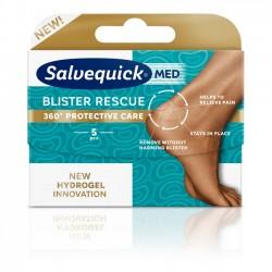 Plastry SALVEQUICK Blister Rescue, na pęcherze na piętach, 5 sztuk