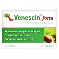Venescin forte, 30 tabletek