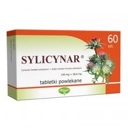 Sylicynar (28,6mg +140mg), 60 tabletek