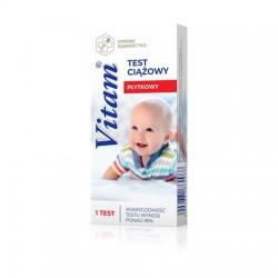 Vitam, płytkowy test ciążowy, 1 sztuka