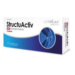 StructuActiv 500, kości chrząstki, 60 kapsułek, ACTIVLAB PHARMA