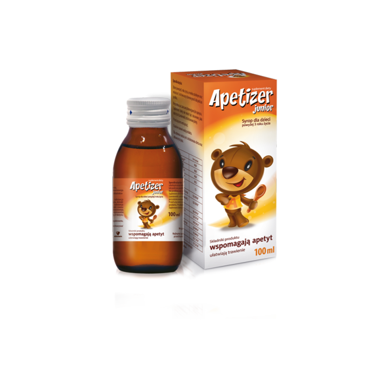 Apetizer Junior, syrop dla dzieci, 100 ml, Aflofarm