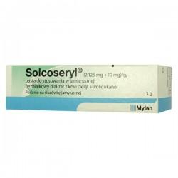 Solcoseryl (2,125mg+10mg)/g, pasta do stosowania w jamie ustnej, 5g