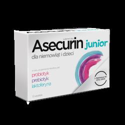 Asecurin Junior, proszek, 10 saszetek, Aflofarm
