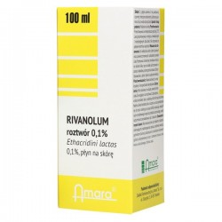 Rivanolum 0,1% płyndostos.naskórę 100ml