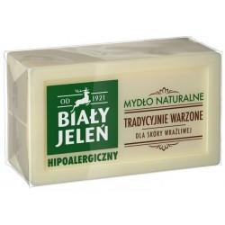 Biały Jeleń Hipoalergiczny, mydło naturalne w kostce, 150 g