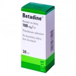 Betadine 100 mg/ml, roztwór na skórę, 30ml